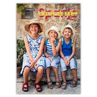 Fotoboek Softcover A4 Staand Omslag