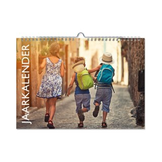 jaarkalender liggend drukken