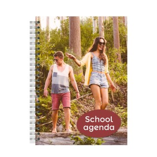 Schoolagenda spiraal A5
