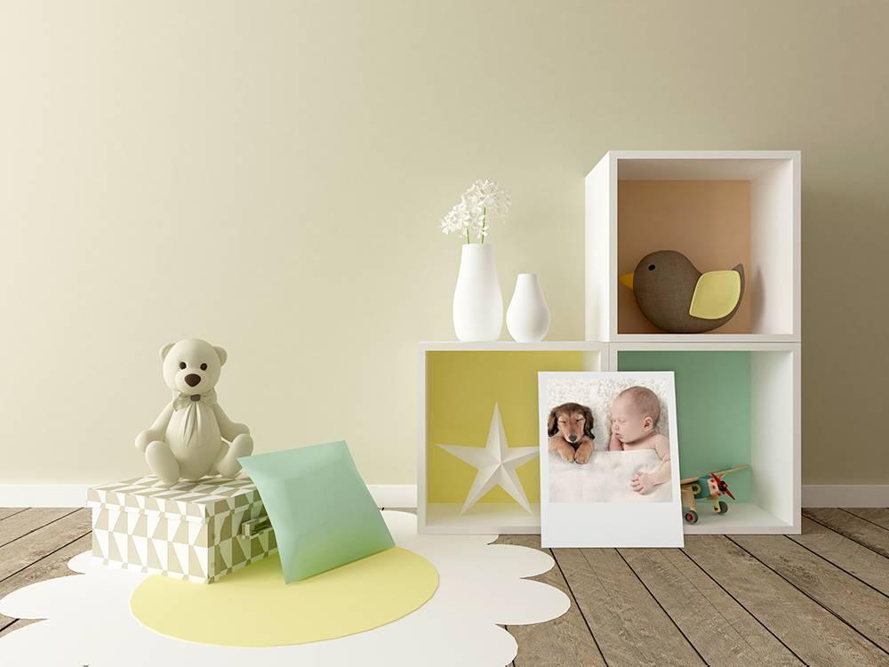 Behang Kinderkamer Geel : Tips: tips voor een retro kinderkamer fotofabriek
